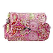 Kalencom Gypsy Laminated Nappy Bag - Paisley Cotton
