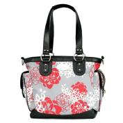 JJ Cole Boutique Norah Nappy Bag - Cherry Lotus