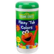 Sesame Street Jumbo Fizzy Tub Colours - 310ml