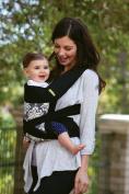Infantino Sash Mei Tai Infant Carrier - Black Print