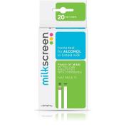 Milkscreen Alcohol Detector Strips