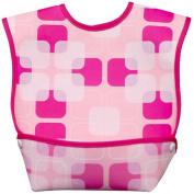 Dex Baby Dura Bib - Geo Pink