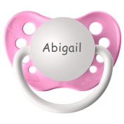 BPA Free Abigail Pacifier with Protection Cap - Pink