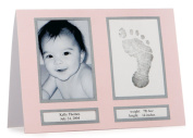 Pearhead Babyprints Birth Announcements - Pink