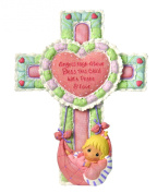 Precious Moments Little Blessings Baby Cross with Stand
