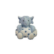 Beansprouts Blue Stuffed Elephant with a Blanket
