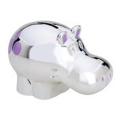 Reed & Barton Silverplate Jungle Parade Hippo Bank