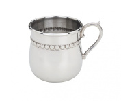 Reed & Barton Baby Hearts Cup - Pewter
