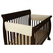 Leachco OrganicSmart Easy Teether XL Side Crib Teething Rail Covers - Ivory