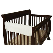 Leachco Easy Teether XL Side Crib Teething Rail Cover - White