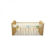 Leachco OrganicSmart Easy Teether Crib Teething Rail Cover - Ivory