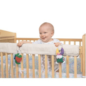 Leachco Easy Teether Crib Teething Rail Cover - Ivory