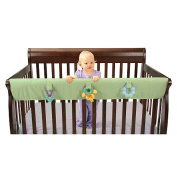 Leachco Easy Teether XL Convertible Crib Teething Rail Cover - Sage