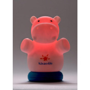 KinderGlo Rechargeable LED Hippo Night Light