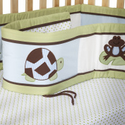 Pam Grace Creations Crib Bumper - Mr. & Mrs. Pond