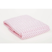 Carter's Easy Fit Crib Printed Fitted Sheet - Pink Flower