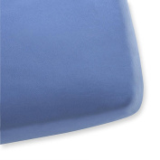 Knit Crib Sheet Bright - Light Blue