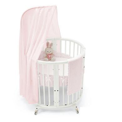 stokke sleepi classic rose mini crib bedding set by stokke shop online for baby in australia. Black Bedroom Furniture Sets. Home Design Ideas