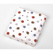 Carter's Easy Fit Crib Printed Fitted Sheet - Sport
