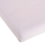 Carter's Easy Fit Portacrib Jersey Fitted Sheet - Pink