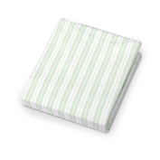 Carter's Easy-Fit Crib Printed Stripe Fitted Sheet - Sage