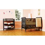 DaVinci Jenny Lind 3-in-1 Stationary Crib - Ebony
