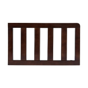 Solutions by Kids R Us Curved Toddler Guard Rail - Dark Chocolate