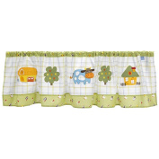 Living Textiles Baby Little Farm Window Valance