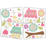 Living Textiles Baby Wall Decal Set - Baby Doll