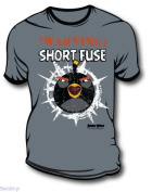 Angry Birds - Warning Shorts Fuse - T-Shirt