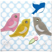 Studio Arts Kids Under the Tree Collection Embellished Wall Hanging - Flock