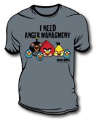 Angry Birds - I Need Anger Management - T-Shirt