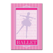Trademark Art Grace Riley Canvas Art -  Ballet in Pink I