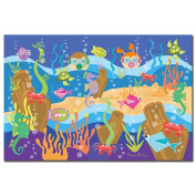 Trademark Art Grace Riley Canvas Art - Underwater Adventures