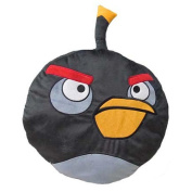 Angry Birds Shaped Black Bird Pillow