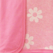Too Good by Jenny McCarthy Pretty in Pink 2-Ply Knit Blanket