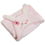 Carter's Keep Me Close Bunny Head Blanket - Pink