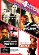 Eraser / Passenger 57 / The Assassin (Point of No Return) / The Last Boy Scout [Region 4]