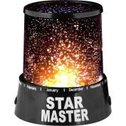 Star Projector Light, Black
