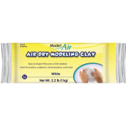 Model Air, Air Dry Modelling Clay, White