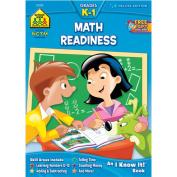 School Zone Publishing Math Readiness Deluxe Workbook