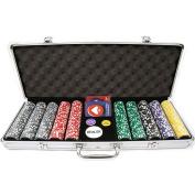Trademark Global High Roller Set with Executive Aluminium Case