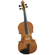 Saga Cremona Student 1/2-Size Violin Outfit Hand Carved