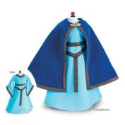 Carpatina French Princess Mediaeval Dress and Blue Velvet Cloak fits 18'' American Girl Dolls