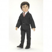 Carpatina Black Suit - for 46cm Carpatina Boy Dolls