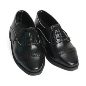Carpatina Black Oxfords - Shoes for 46cm Carpatina Boy Dolls