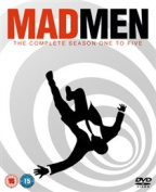 Mad Men: Seasons 1-5 [Region 2] [Blu-ray]