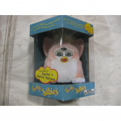Electronic Furby Babies Light Pink & White From Tiger By Hasbro 1999