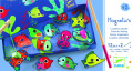 Djeco Magnetic Fishing Games - Colourful Fishing