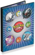 Ultra PRO Pokemon DIAMOND & PEARL - Combo Album - 4 POCKET PORTFOLIO (Pokemon Trading Card Album / Binder) - Darkrai and Friends Cover